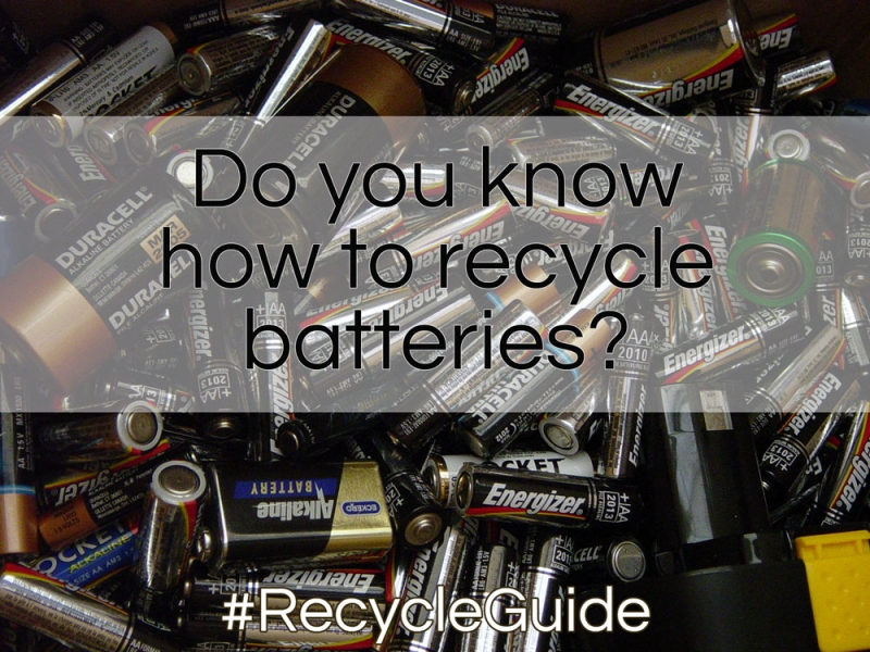 Recycle Batteries - The Recycle Guide - Recycling Batteries