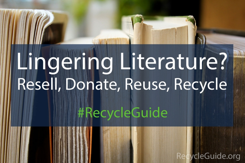 Recycle Books - The Recycle Guide - Recycling Books