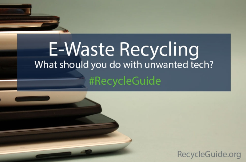 E-Waste: Recycling Old Tech | Recycle Guide