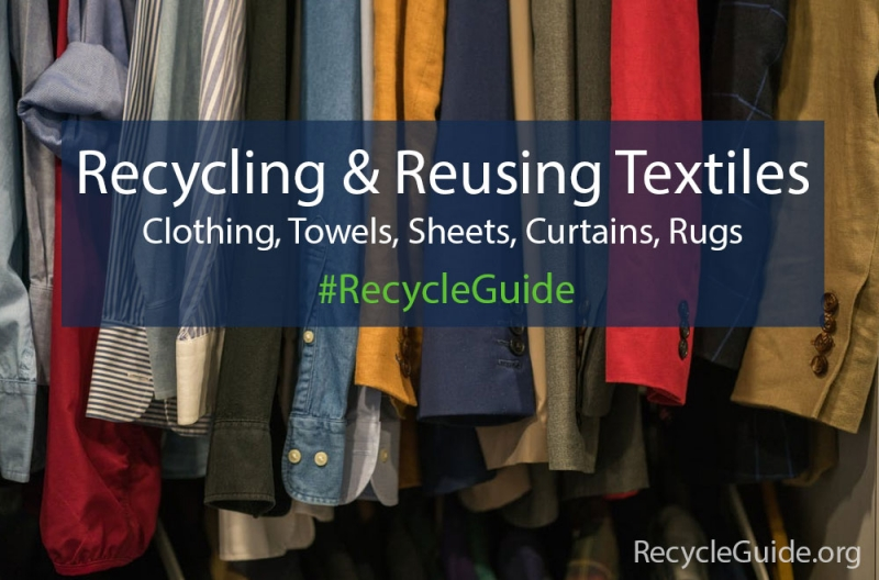 What You Can Do About Textile Pollution | RecycleGuide.org